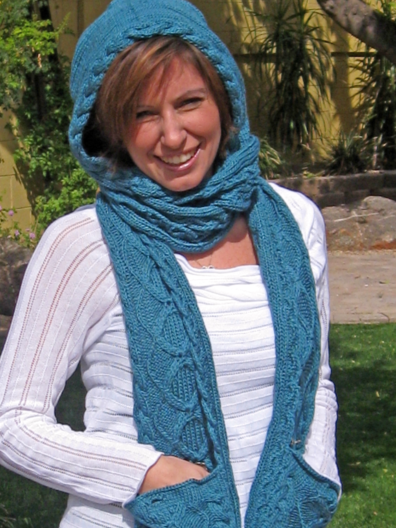 Knitting Pattern Scarf With Pockets : FREE CROCHET HOOD PATTERNS - Crochet and Knitting Patterns