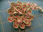 Ruched Flower (Step 8a)