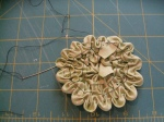 Ruched Flower (Step 9)