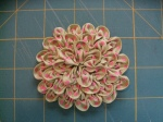 Ruched Flower (Step 10)